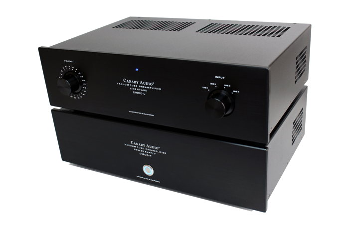 Canary Audio C1600 Reference Two Box Tube Preamplifier ...