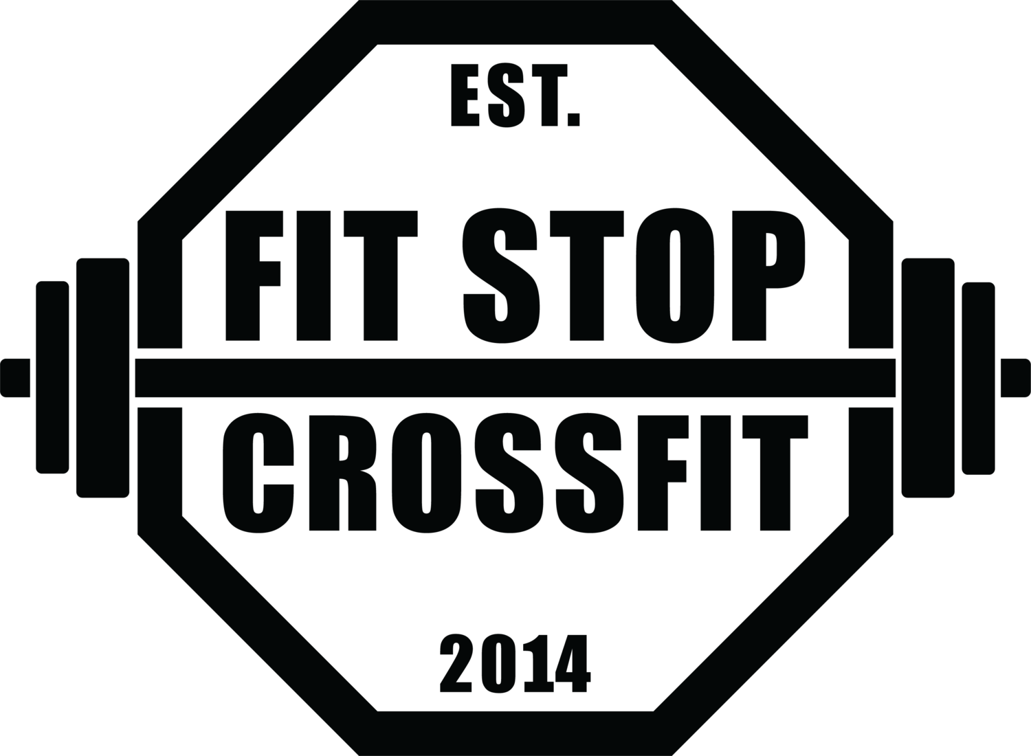 The Fit Stop logo