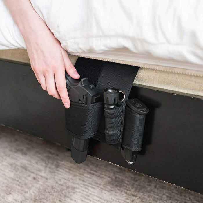 Morpheus bedside holster | Best holster for home emergency | Dinosaurized store | Best bedside holter in America