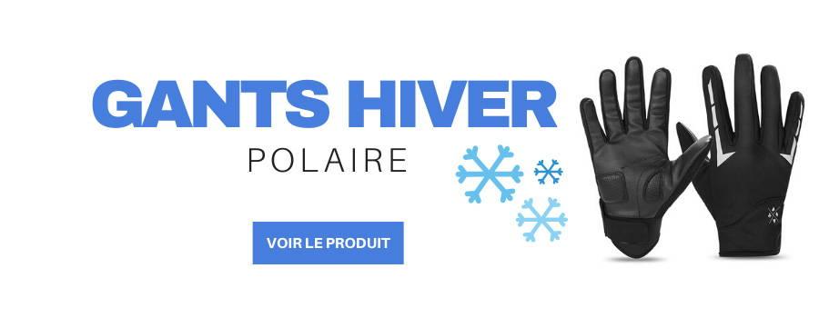 gants polaire trottinette electrique