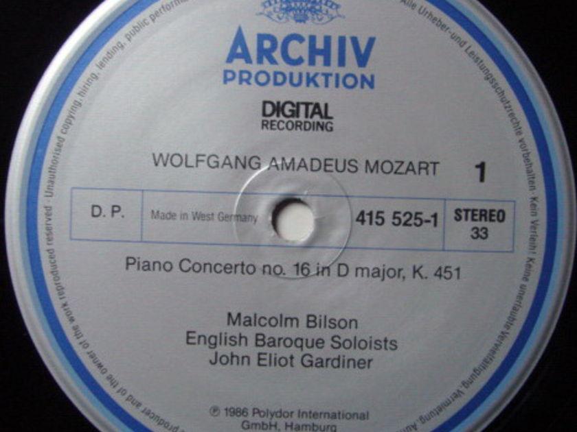 Archiv Digital / GARDINER-BILSON, - Mozart Piano Concerto No.16 & 17, NM!