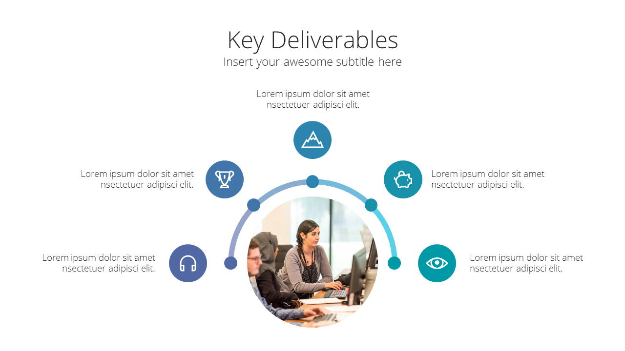 Modern X Consulting Firm Proposal Presentation Template Key Deliverables