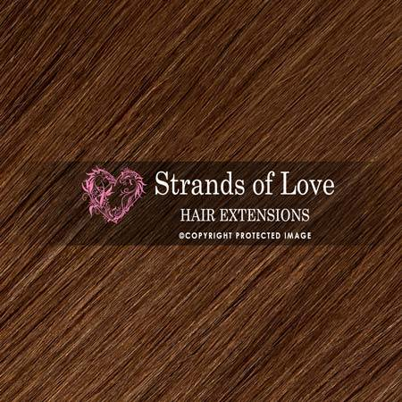 Strands Of Love Hair Extensions Colour Chestnut Natural Brown