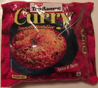 topramen curry noodles