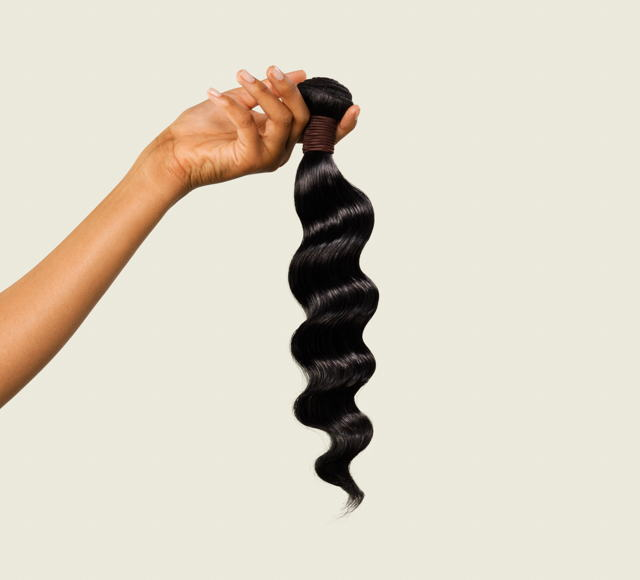 Loose Wave #1 Jet Black Bundles Mayvenn