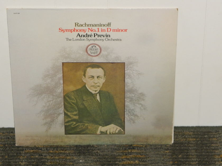 "Andre Previn/The London Symphony Orchestra - Rachmaninoff ""Symphony No. 1 in Dm"" EMI/Angel S 73120"
