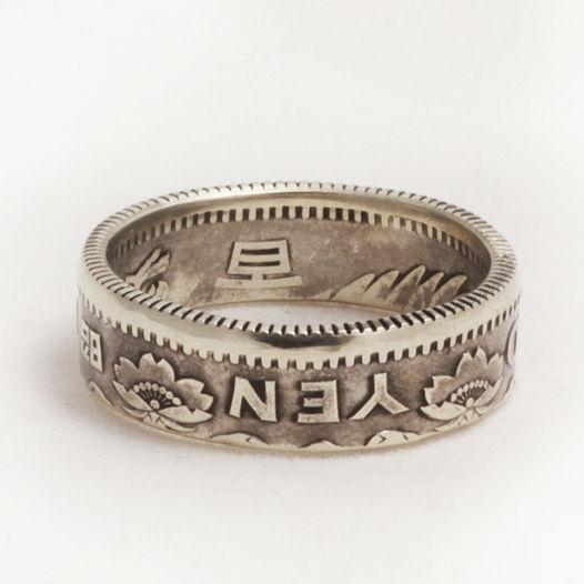 Кольцо из монеты - Япония 100 йен