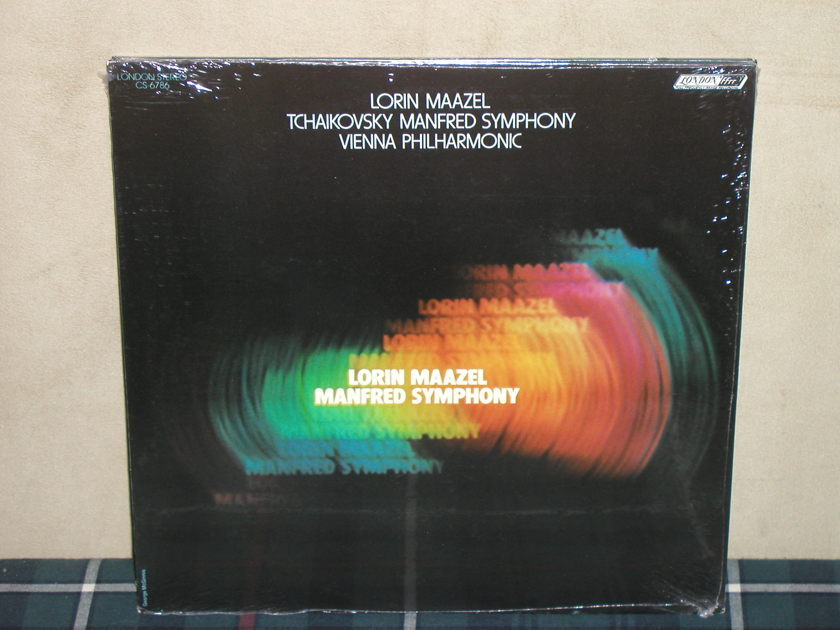 Maazel/VPO   Tchaikovsky - Manfred  SEALED London CS 6786 (Thick)