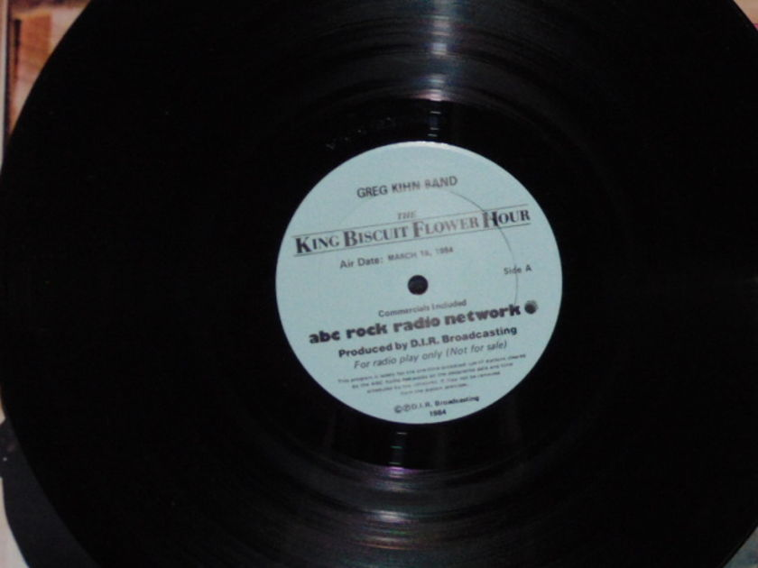 Greg Kihn Band - King Biscuit Flower Hour 2 Lps Extremely Rare Near Mint