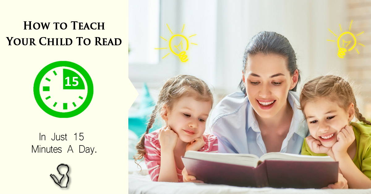 Teach your child to read in 15mins a day