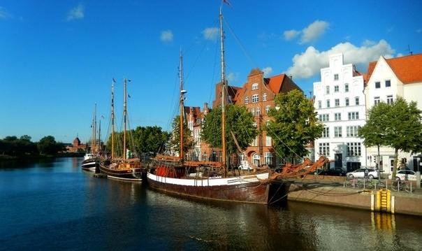 Любек — cтолица Ганзы на берегу Балтики