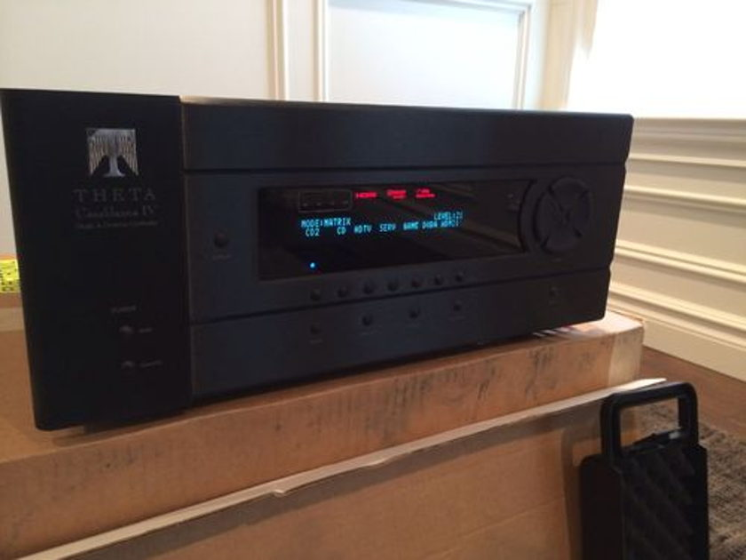 Theta Digital Casablanca IV  Upgradable for Life -  Worlds Best Pre-Amp Includes HDMI 2.0 !