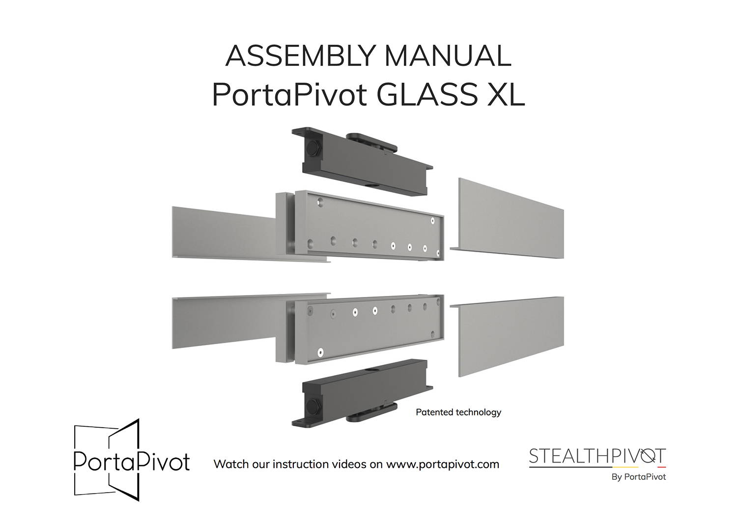 Portapivot Glass XL assembly manual