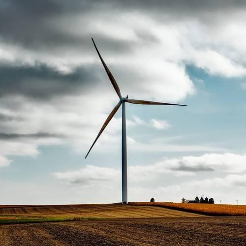 image d'une éolienne, symbole de l'écoresponsabilité