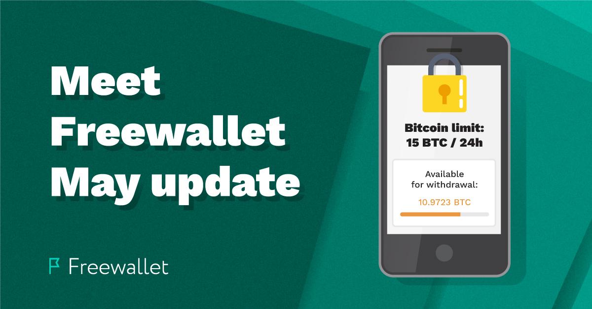 Meet the Freewallet May update