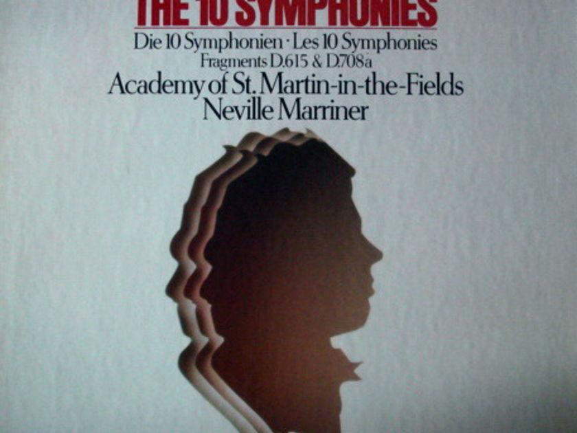 Philips Digital / MARRINER, - Schubert The Complete Symphonies, MINT, 7LP Box Set!