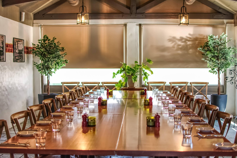 Private Dining room at Blaxland Inn Hunter Valley Restaurant Hunter Valley Winery