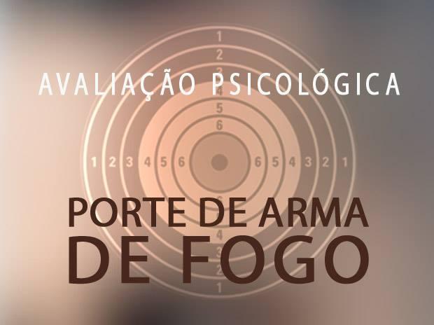 Capacitação em Avaliação Psicológica para Manuseio de Arma de Fogo – Semi Presencial.