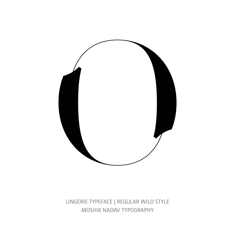 Lingerie Typeface Regular Wild O