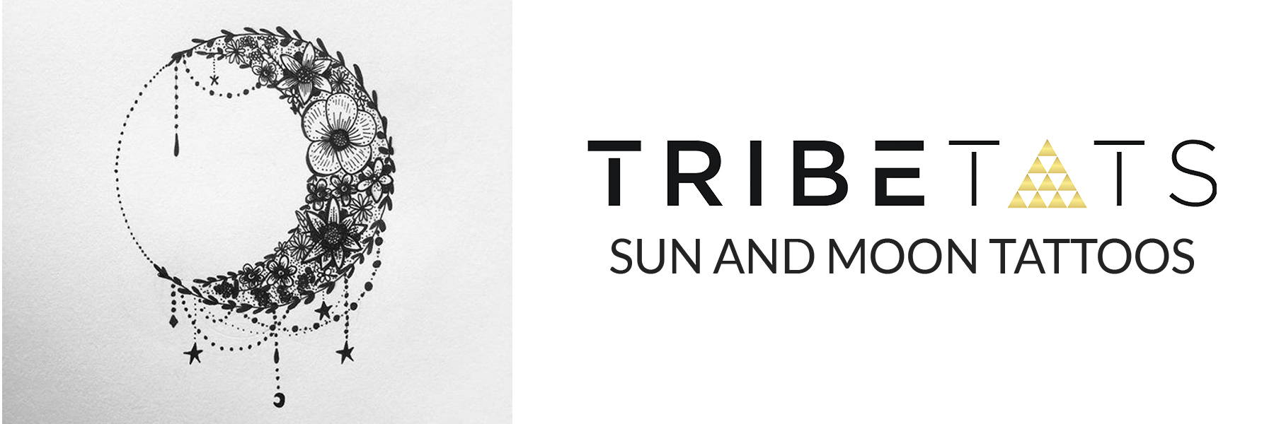 TribeTats Sun and Moon Tattoos