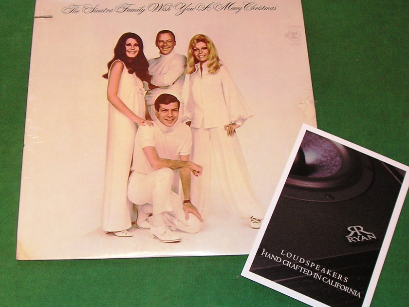 FRANK SINATRA - SINATRA FAMILY WISH YOU a MERRY... - * 1969 REPRISE PRESS * NEW/SEALED