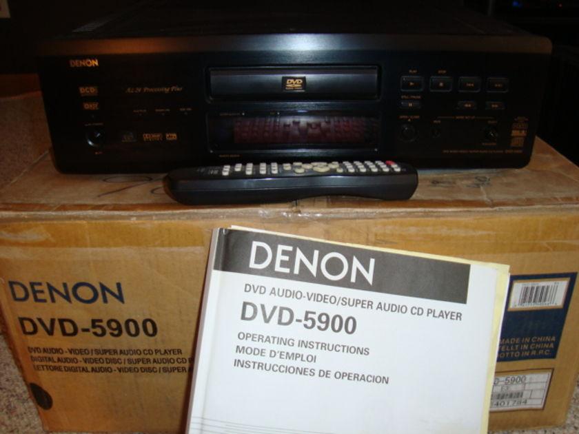 DENON DVD-5900 FLAWLESS FLAGSHIP UV PLAYER