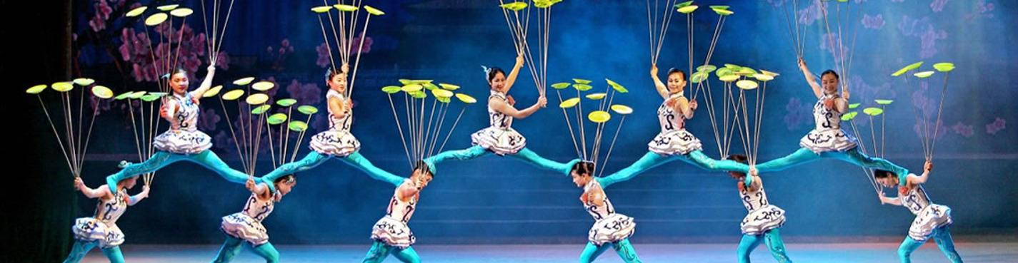 Акробатическое шоу в театре Чаоян