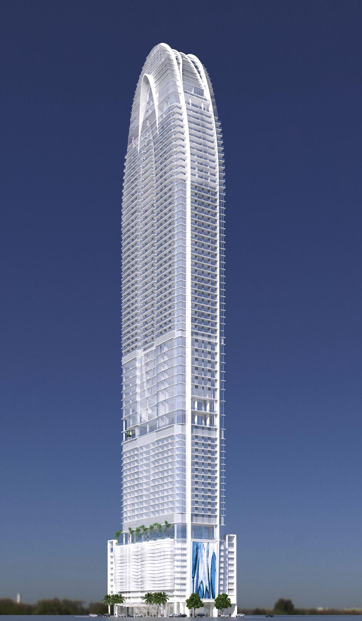 skyview image of OKAN Tower Miami