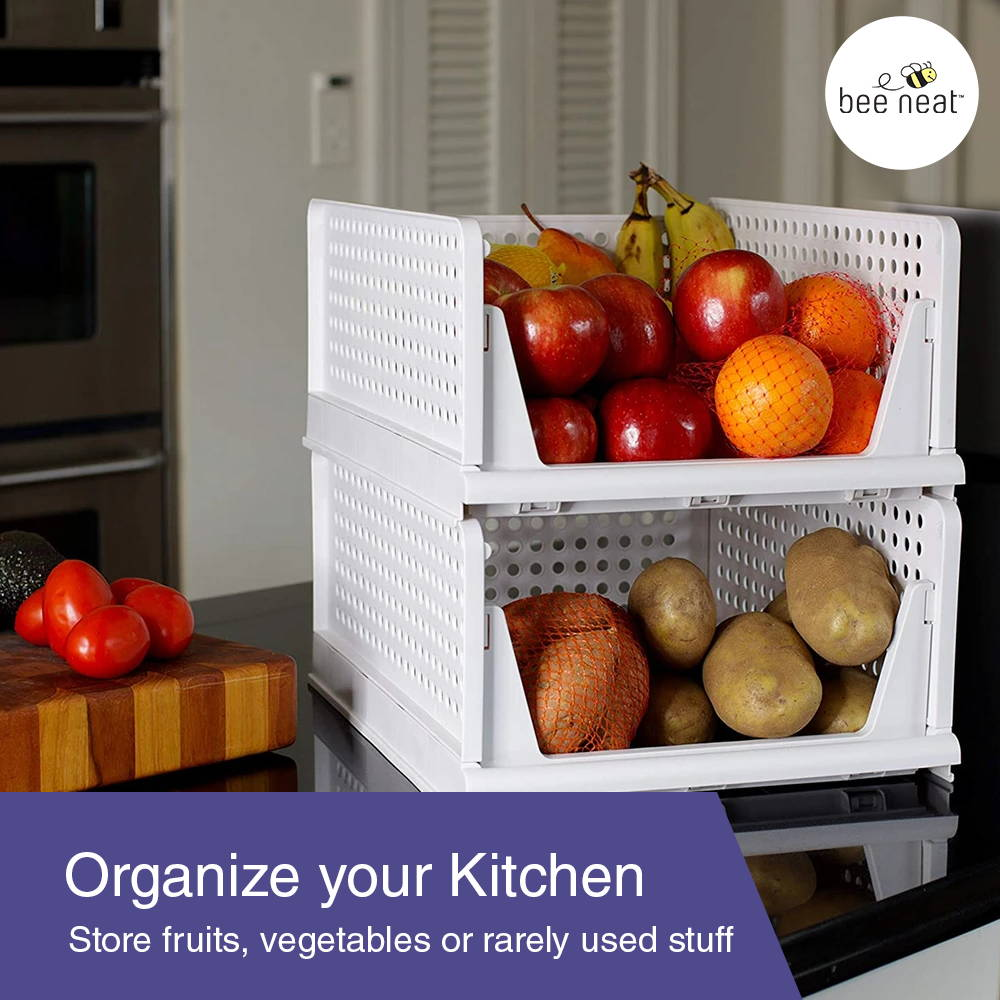 Store fruits, vegetables or rarely used stuff