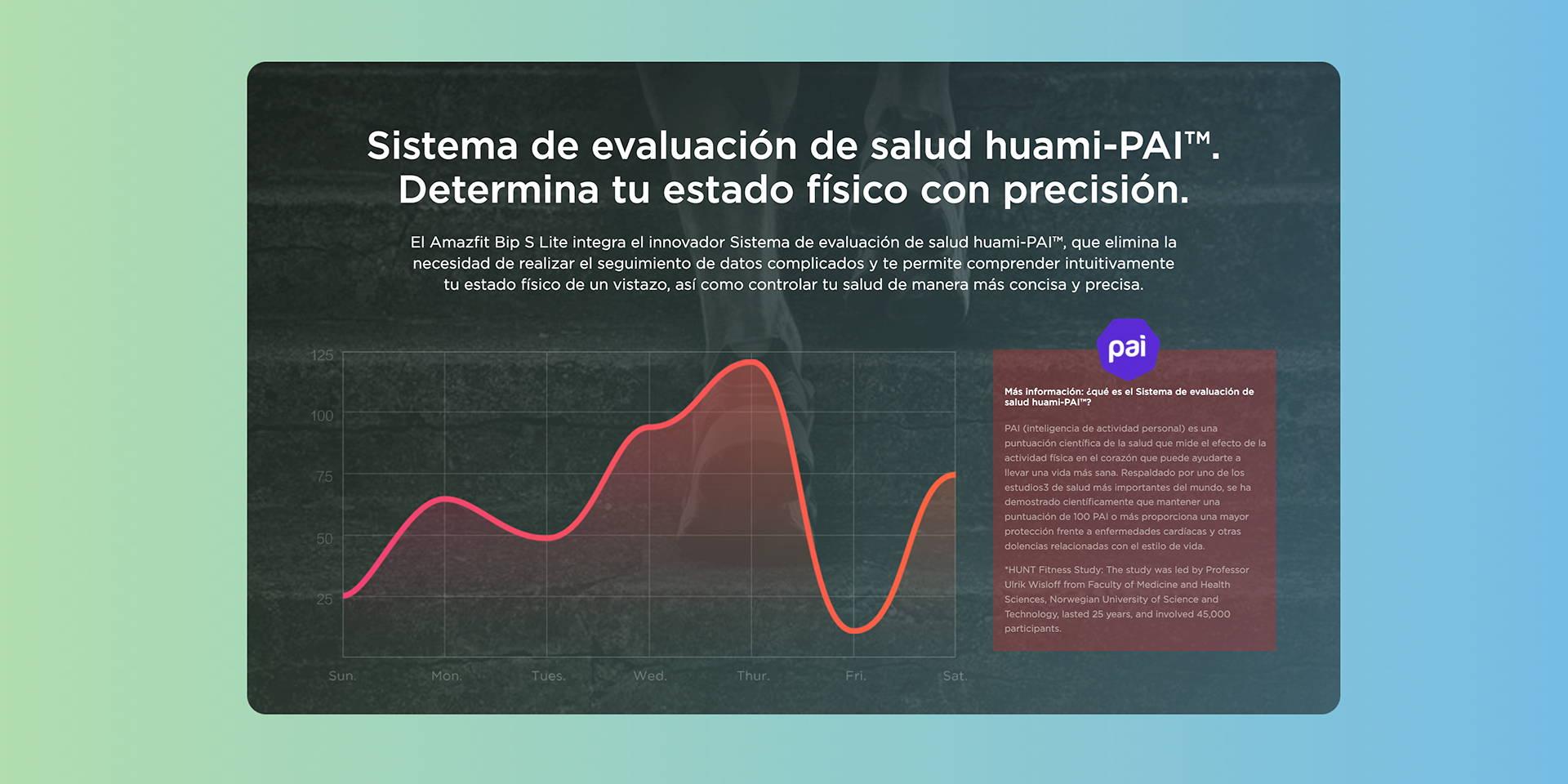 Amazfit ES - Amazfit Bip S Lite - Sistema de evaluación de salud huami-PAI™. | Determina tu estado físico con precisión.