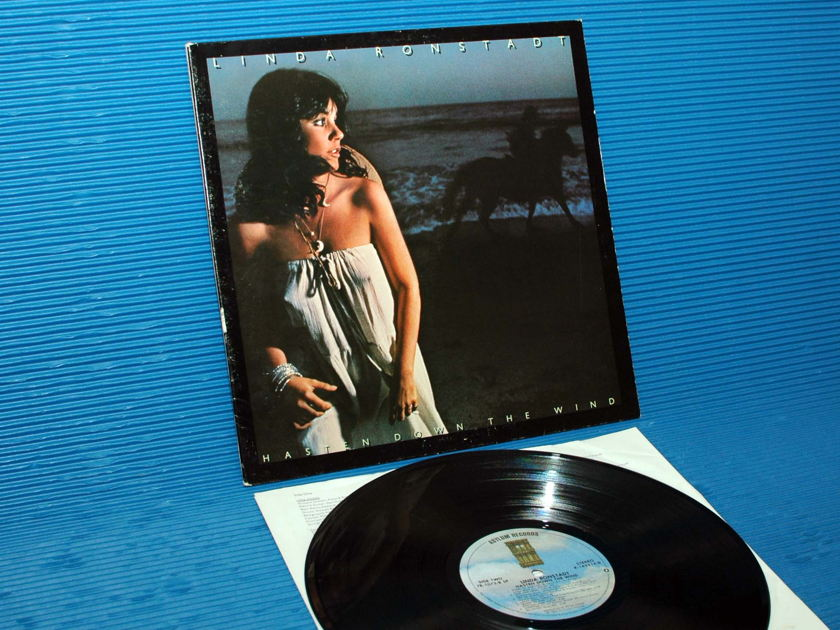 "LINDA RONSTADT - - ""Hasten Down the Wind"" -  Asylum 1976"