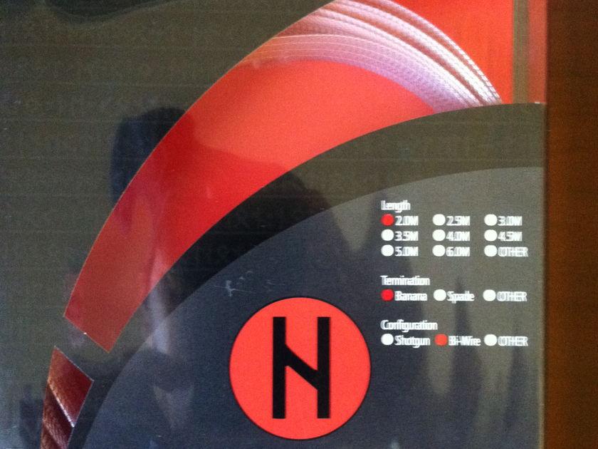 Nordost (3) 2m Hemdall Speaker Cables Bi-Wire/Banana
