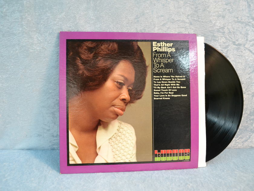 "Esther Phillips - ""From a Whisper to a Scream"" LP/Vinyl"