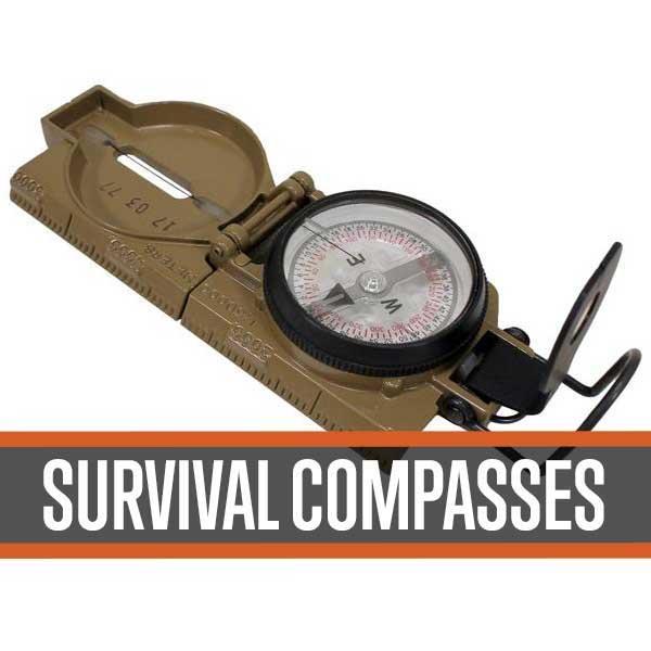 survival compass gps orienteering