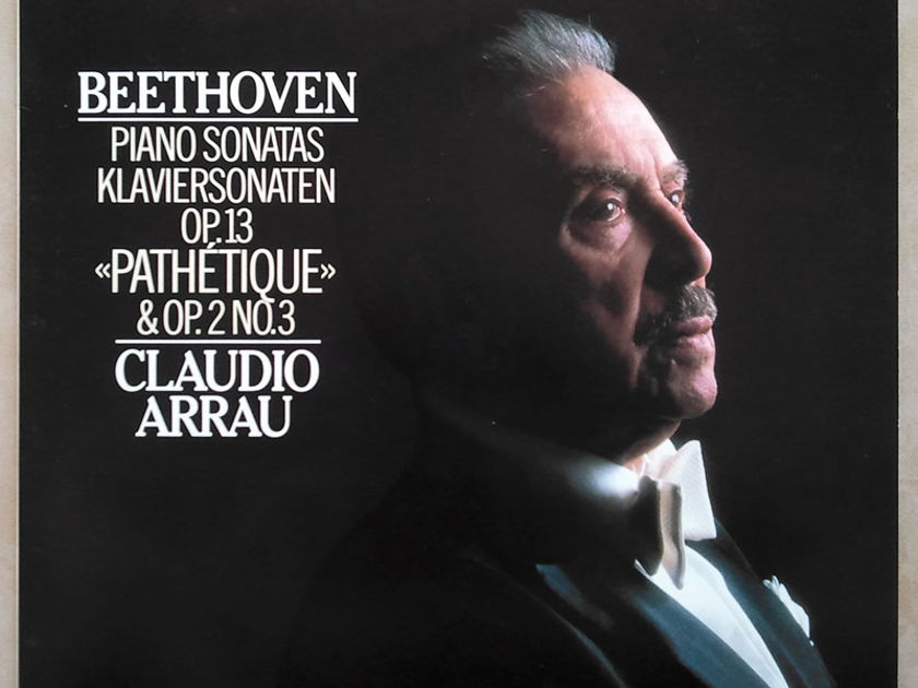 "Philips Digital Classics/Arrau/Beethoven - Piano Sonatas ""Pathetique"" & Op.2 No.3 / NM"