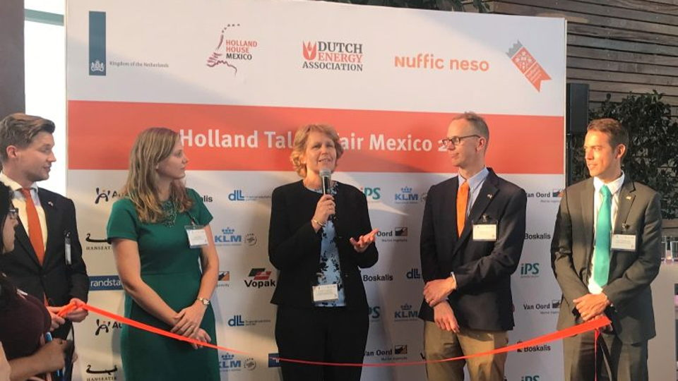 Eerste Holland Talent Fair in Mexico is een groot succes!