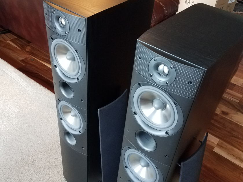 PSB 2- T45 Towers, 2- S10 Rear Surroun, 1- C40 Center  Surround Sound Speaker System