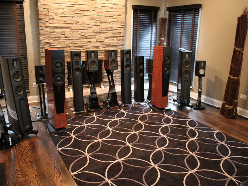 Dynaudio C4 - Signature Edition -  Beautiful Mocca Finish - Amazing Speakers!!