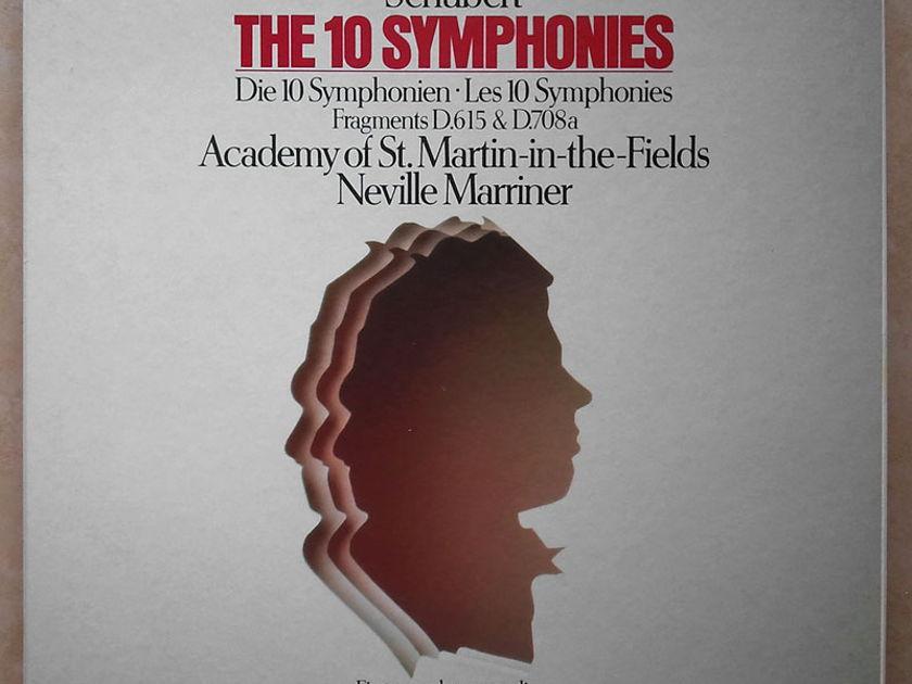 Philips Digital Classics/Marriner/Schubert - The 10 Symphonies / 7-LP Box Set / NM