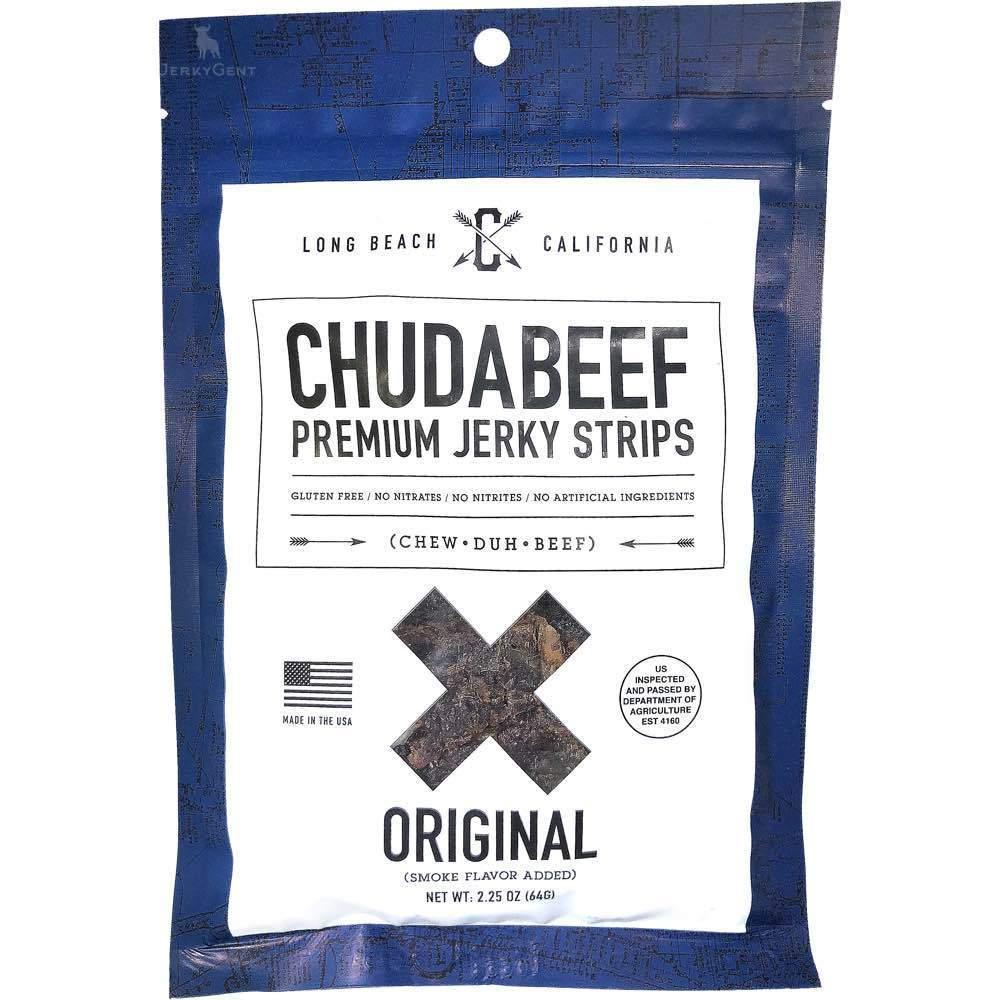 Chudabeef Premium Beef Jerky Strips JerkyGent