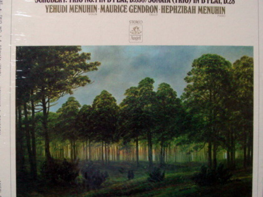 ★Sealed★ EMI Angel / GENDRON-MENUHIN, - Schubert Trio No.1, Trio Sonata in B Flat!