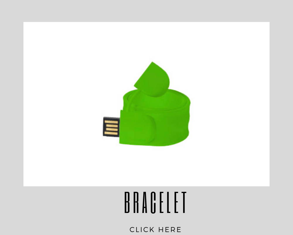 Custom Bracelet Corporate USB Flash Drives
