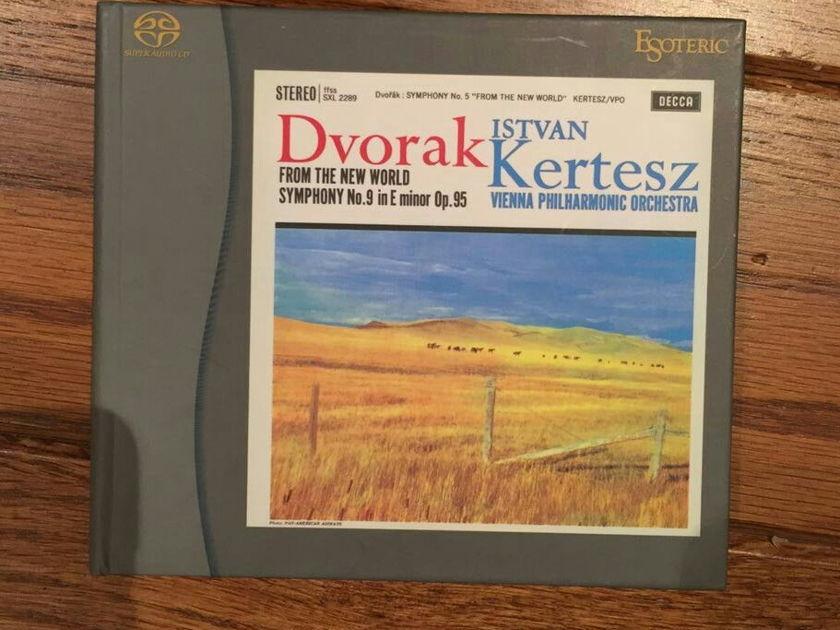 Dvorak - symphony No9 new world -Kertesz, Esoteric SACD
