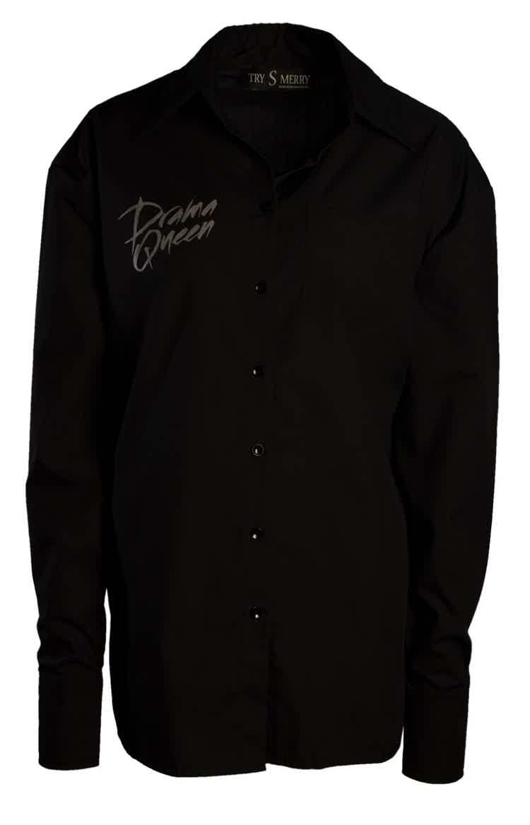 Drama Queen Black Shirt