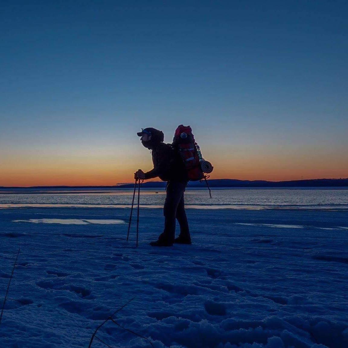 Mount Trail et arctuk en expédition avec Mathieu Jourjon