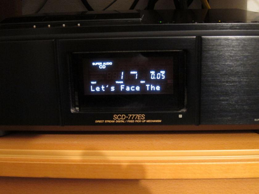 Sony SCD 777 ES Super Audio CD Player