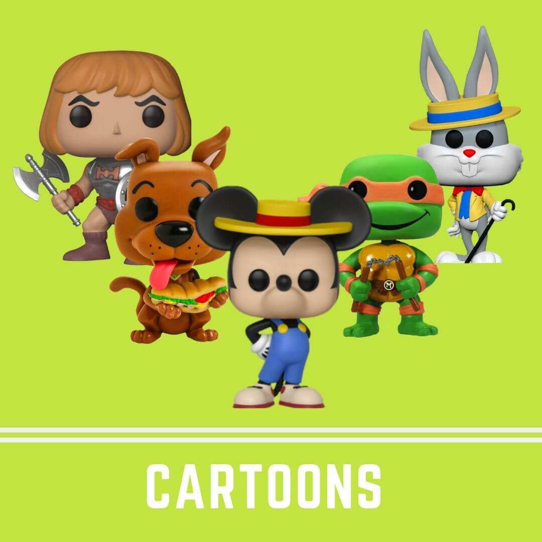 Bobble head, bobble-heads,, funko, Hanna Barbera, Tv series, Warner Bros, below 1000, under 1000, pop, TV show, cartoons, Mickey, Heman, Scooby, Hanna Barbera, Looney Tunes