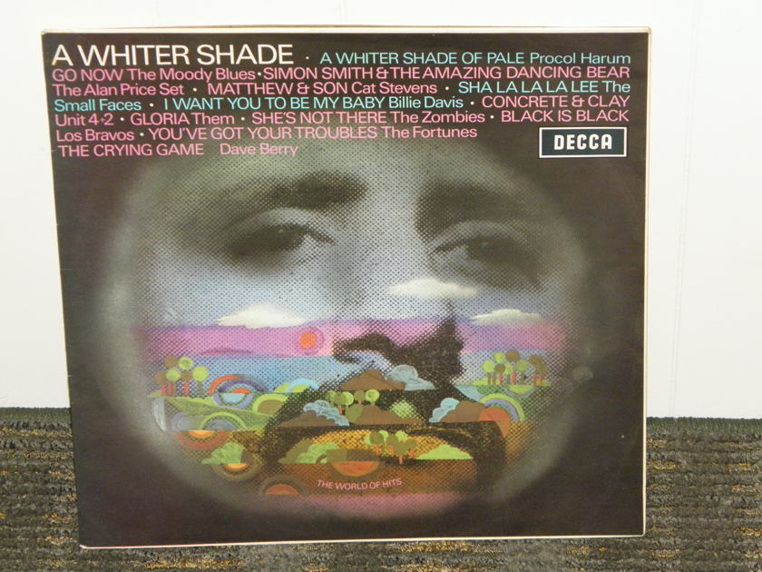 Procol Harum/Zombies/Moody Blues - A Whiter Shade UK Import DECCA SPA-7