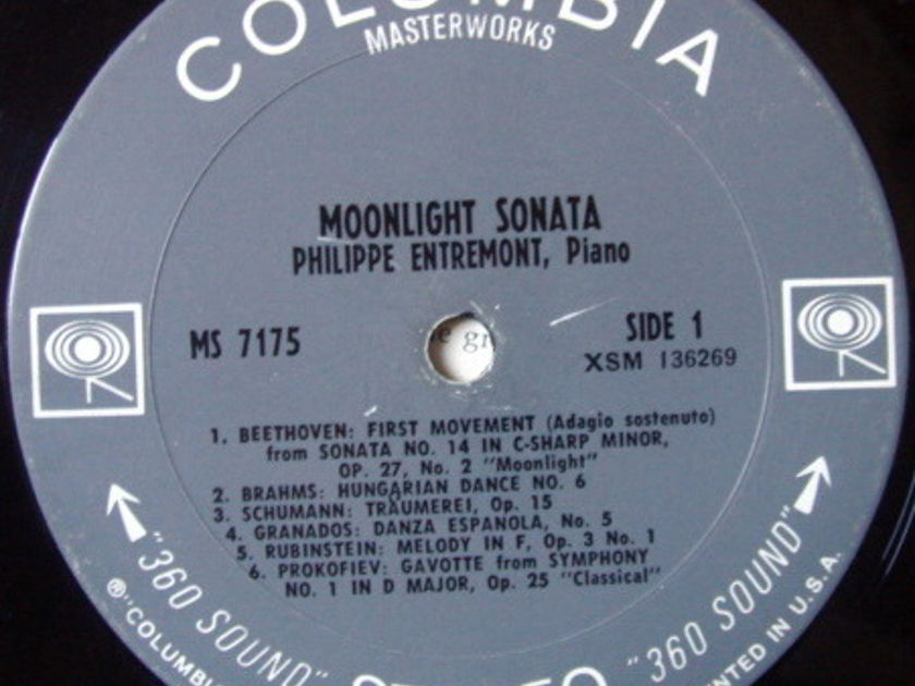 Columbia 2-EYE / ENTREMONT, - Moonlight Sonata, VG+!