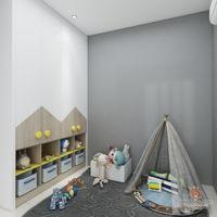 spaciz-design-sdn-bhd-minimalistic-modern-malaysia-selangor-bedroom-kids-3d-drawing-3d-drawing